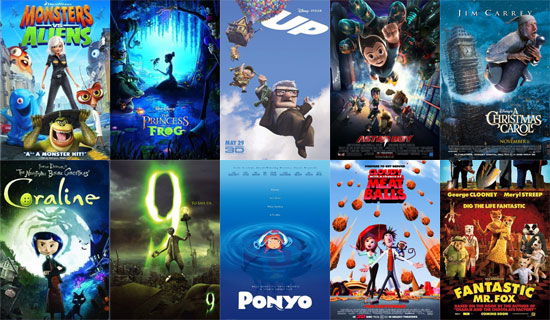 What Is the Best Animated Film of 2009?