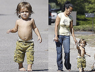 Photos of Levi McConaughey With His Nanny