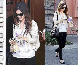 Photos of Rachel Bilson in LA 2009-10-25 10:00:43