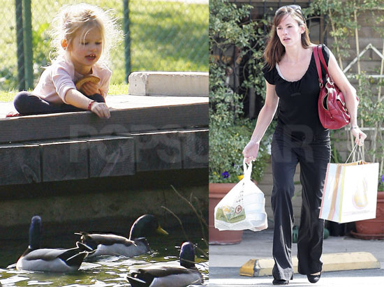 Photos of Violet and Jenn