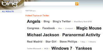 Bing and Google to Include Twitter Updates in Search Results