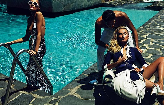 Natasha Poly and Snejana Onopka Star in Gucci's Cruise 2010 Ads