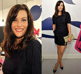 Photo of Liv Tyler in Black Bow Dress at Stella McCartney For GapKids Pop Up Store Event in LA