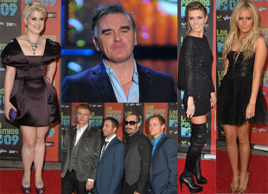 Gallery of Photos From the 2009 MTV Los Premios Awards, Extensive Gallery of Photos From the 2009 MTV Latin American VMAs