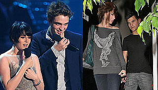 UK Poll on Whether New Moon Stars Robert Pattinson and Kristen Stewart or Taylor Swift and Taylor Lautner Interest You More?