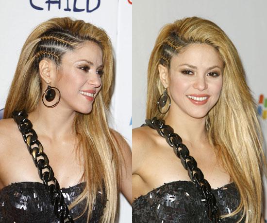 Shakira in Cornrows 2009-12-07 10:00:01