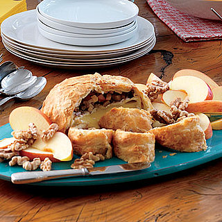 Baked Brie Thanksgiving Appetizer With Walnuts Recipe