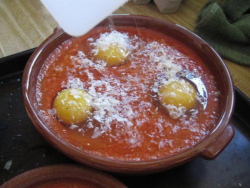 Eggs Baked in Tomato Sauce Recipe | POPSUGAR Food