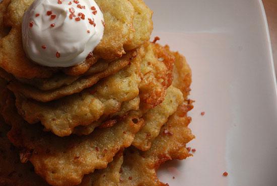 Michael Symon's Tips For Perfect Potato Pancakes