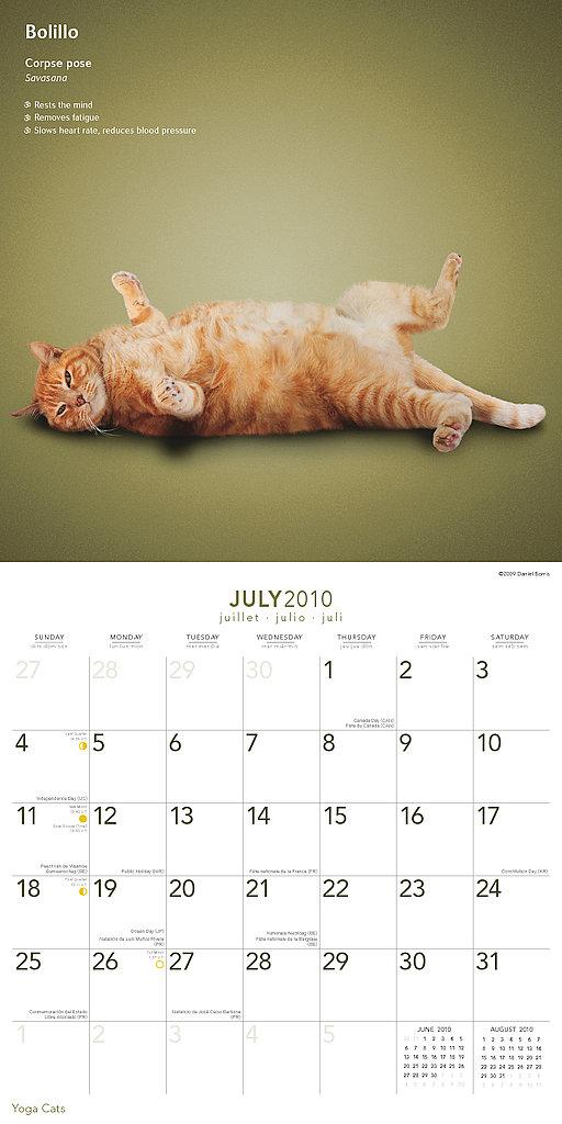 July — Corpse Pose