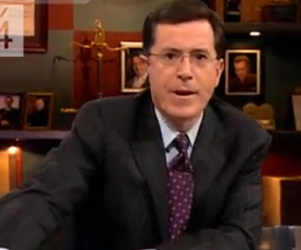 Buzz-Worthy Video: Stephen Colbert in an Empire State of Mind