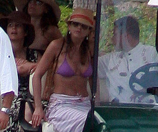 Slide Photo of Jennifer Aniston in a Bikini in Mexico
