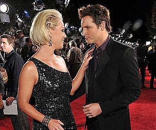 Slide Photo of Jennie Garth and Peter Facinelli on New Moon Red Carpet