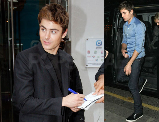 Photos of Zac Efron Promoting Me & Orson Welles in London