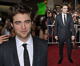 Photos of Robert Pattinson at The LA Premiere of New Moon 2009-11-16 19:33:42