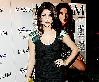 Slide Photo of Ashley Greene at Maxim Party in NYC
