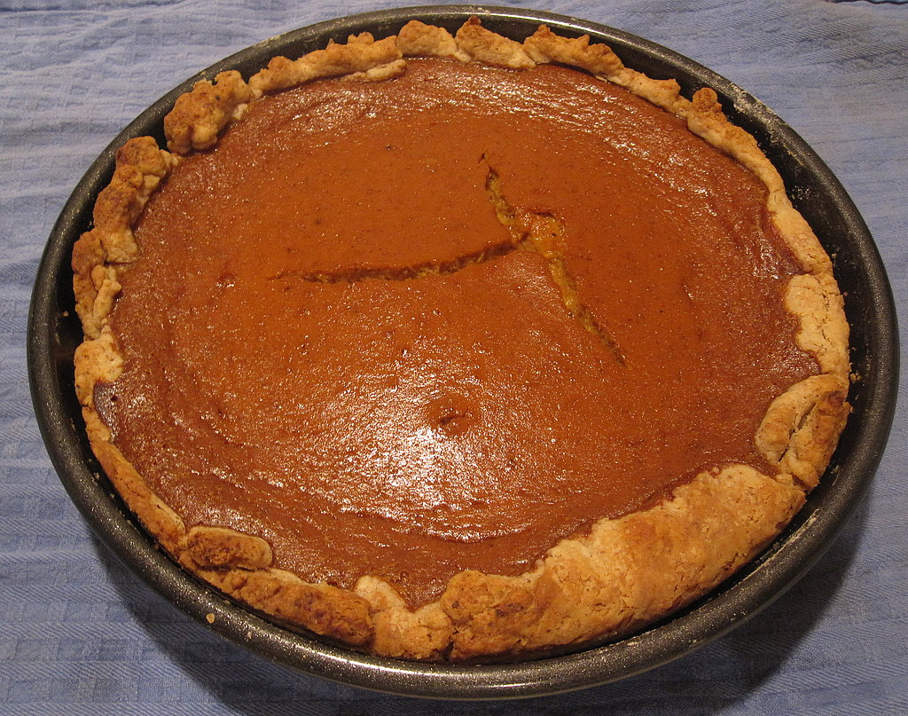 Old-Fashioned Pumpkin Pie With Pecan Pastry Crust | POPSUGAR Food