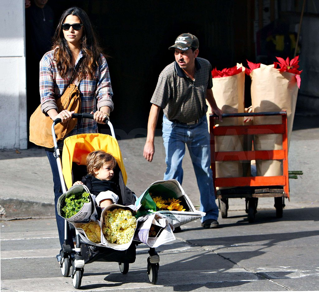 Photos of Camila and Levi Running Errands in LA