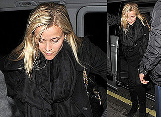 Photos of Reese Witherspoon leaving La Petite Maison in London