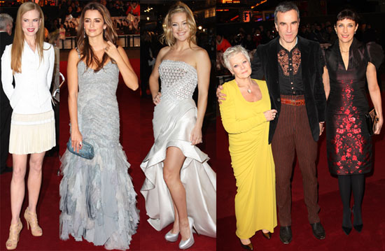 Photos of Fergie, Kate Hudson, Penelope Cruz at London Nine Premiere 2009-12-03 13:31:17