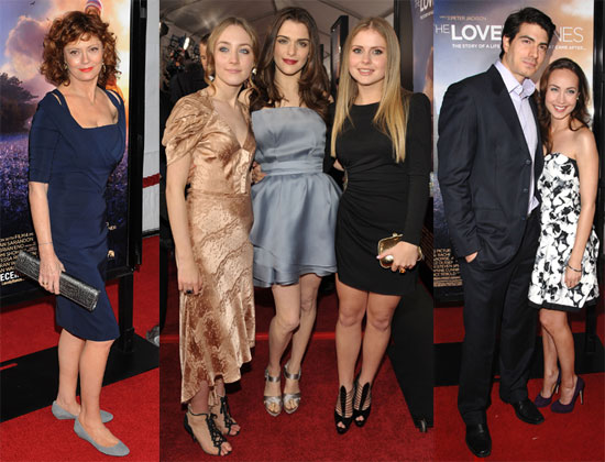 Photos of The Lovely Bones Premiere in LA