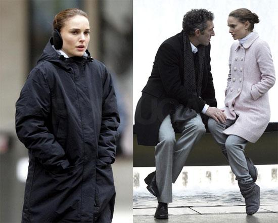Photos of Natalie Portman Filming Black Swan in NYC