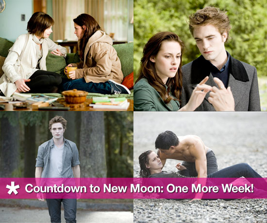 Countdown to New Moon
