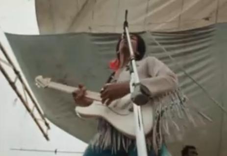 """FABTV: Jimi Hendrix, Woodstock '69, """"Fire"""""""