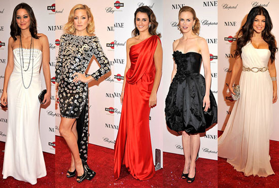 Photos of the Ladies of Nine at the New York Premiere