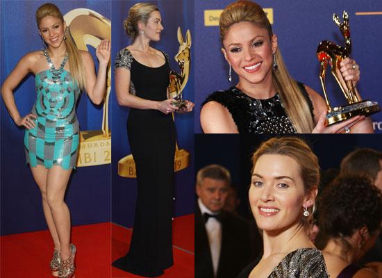 Photos from the 2009 Bambi Awards, Where Kate Winslet Won Best Actress and Shakira Won Best International Pop Star