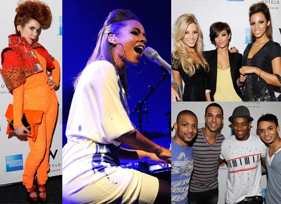 Photos from Alicia Keys London Album Launch With JLS, The Saturdays, Dizzee Rascal, Paloma Faith