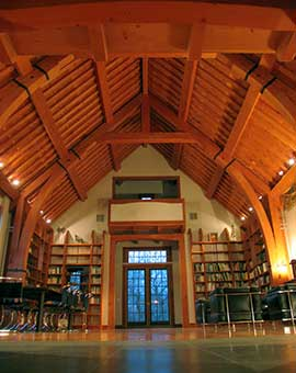 Coveted Crib:  A Nantucket House and Library