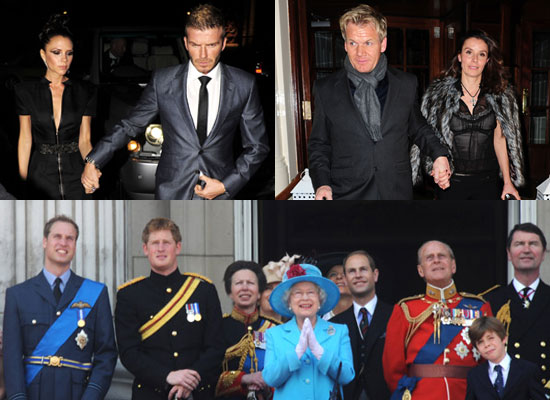 Pop Poll on Who You Would Rather Spend Christmas With The Beckhams and Ramsays or The Royal Family