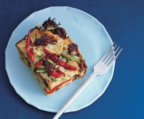 Easy Christmas Brunch Menu With Egg Strata and Home Fries Recipes