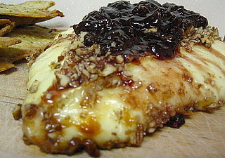 Baked Brie With Pecans and Strawberry Jam Recipe