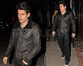 Photos of John Mayer During a Night Out in LA