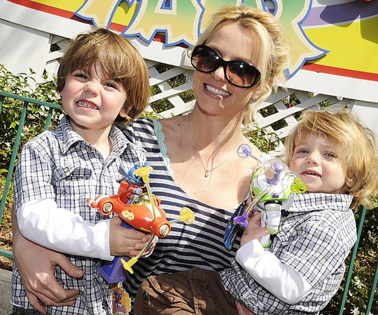 Britney's Big Year With Her Boys!