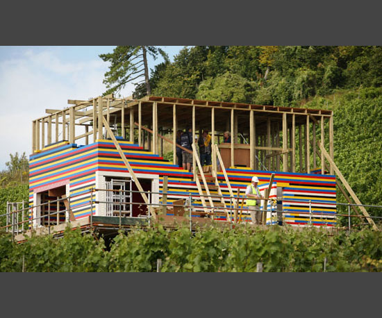 1. UK Toy Master Builds House From Legos