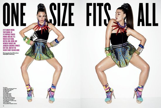 Photos of V Magazine's One Size Fits All Editorial Photographed by Terry Richardson 2009-12-22 06:00:08