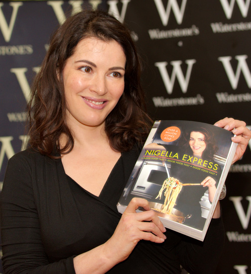 Nigella has never had formal chef training.