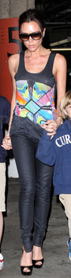 Victoria Beckham Wears Jonathan Saunders to the Movies