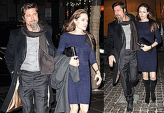 Photos of Brad Pitt and Angelina Jolie Out to Dinner in NYC