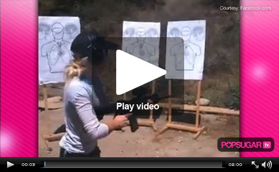 Video of Heidi Montag at the Shooting Range, Rob and Kristen's Lucky Fan Speaks Out, and Lindsay Lohan in St. Barts!