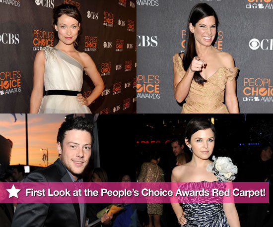 First Look at the People's Choice Awards Red Carpet!
