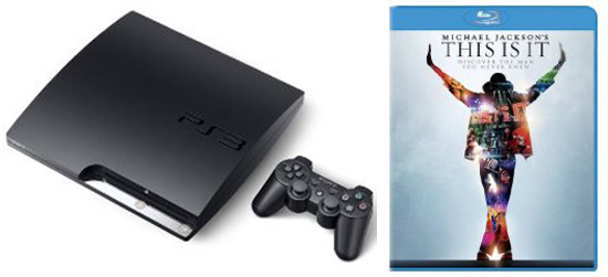 "Japan Releasing a Michael Jackson ""This Is It"" PS3 Bundle January 27"
