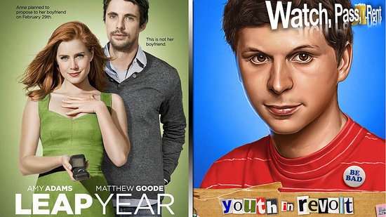 Youth in Revolt Review and Leap Year Review