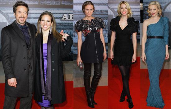 Photos of Diane Kruger, Rachel McAdams, January Jones at Sherlock Holmes Red Carpet in Berlin 2010-01-13 04:00:00