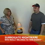 Surrogate Mom Takes Twins Back From Original Parents