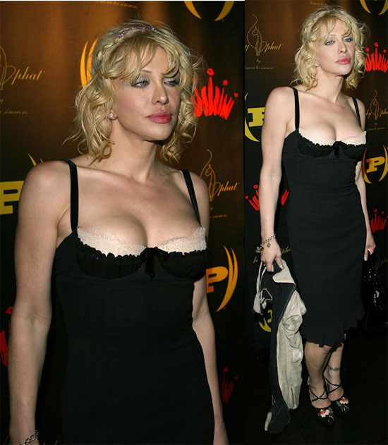 Courtney Love All Dolled Up