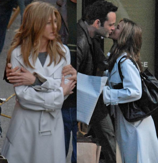 More Clothes From The Break-Up: Jen's White Hot Trench Coat